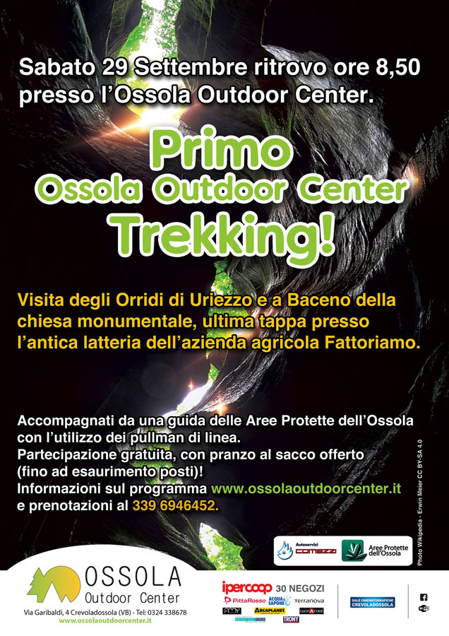 Trekking ossola outdoor center - escursioni