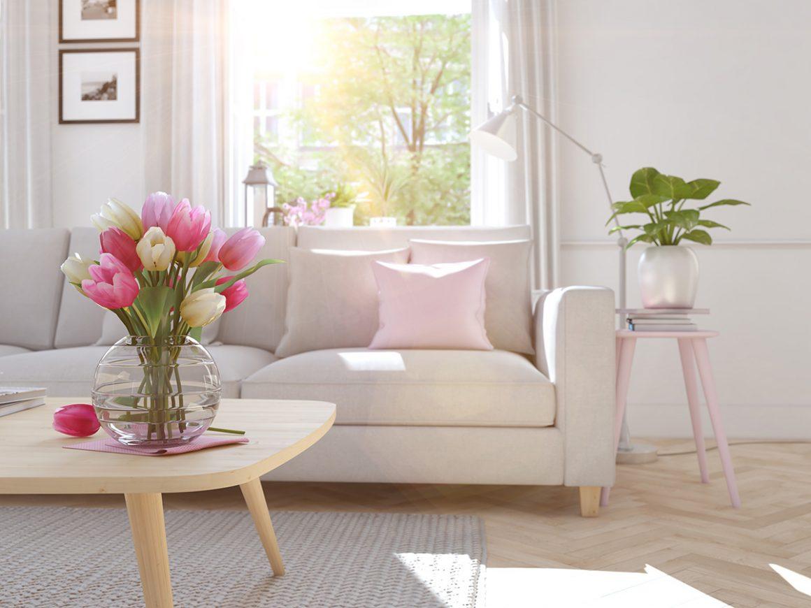 Rinnova il tuo soggiorno con colori primaverili in soli 5 ...